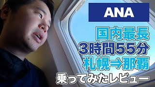 日本国内線最長フライト(札幌⇒那覇)に乗ってみたレビュー。ゴーアラウンド初体験