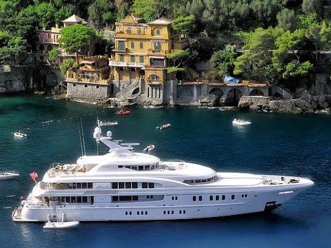 Traveling , PORTOFINO ITALY 2015 / Andrea Bocelli song. ..4K Video