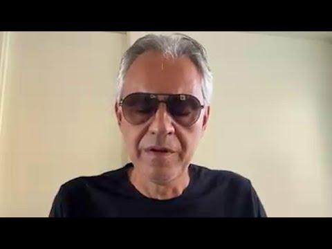 """Andrea Bocelli fa un passo indietro: """"Chiedo sinceramente scusa per le mie parole sul Covid-19"""""""