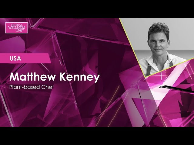 Global Wellness Day 2020 / 24-hour Livestream / Matthew Kenney