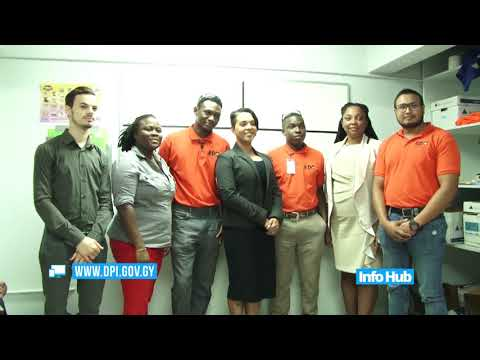 Four Government Technical Institute graduate benefitting from training in oil and gas industry.