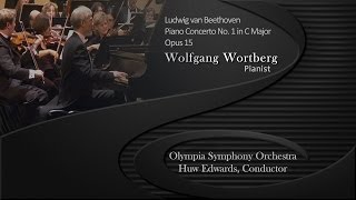 Beethoven Concerto No.1 - full version plus encore. Wolfgang Wortberg