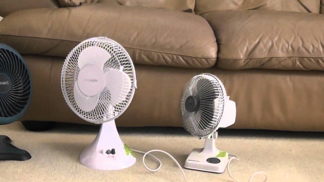 Windmere 7 Oscillating Fan : My portable fan collection part youtube