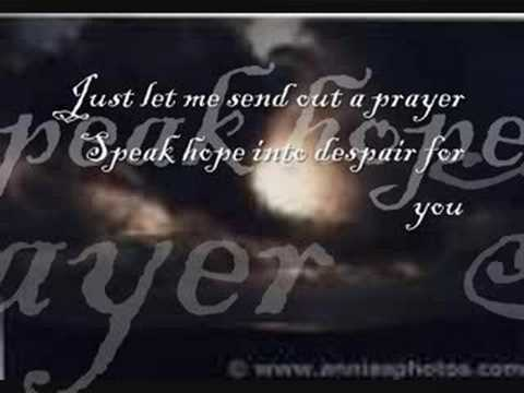 Send Out a Prayer by The Anointed ( w/ lyrics)