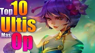 top 10 Ultis MAS ROTAS - League Of Legends