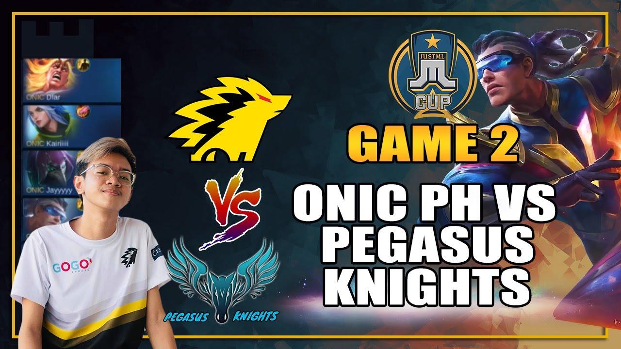 PEGASUS KNIGHTS vs ONIC PH GAME 2 - JUST ML