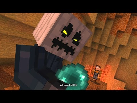 Minecraft: Story Mode - Battling The White Pumpkin (29)