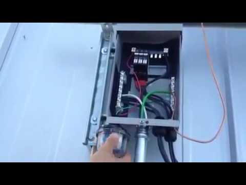 Diy Solar How To Mount An Mnpv6 Combiner Box For Pitched