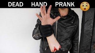 Dead Hand PRANK💀😵 -Julien Magic