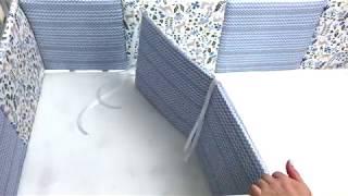 Обзор тонких бортиков в кроватку