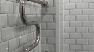 Бюджетный ремонт ванной комнаты из ПВХ панелями