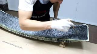 видео Технология изготовления стеклопластика для тюнинга своими руками