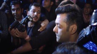 Angry Salman Khan