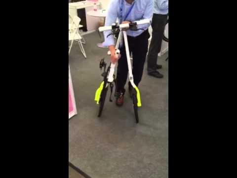 Как сложить велосипед !