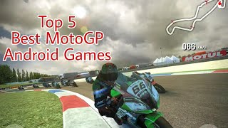 Top 5 Best MotoGP Android Games - Available in Play Store - Bike Simulator