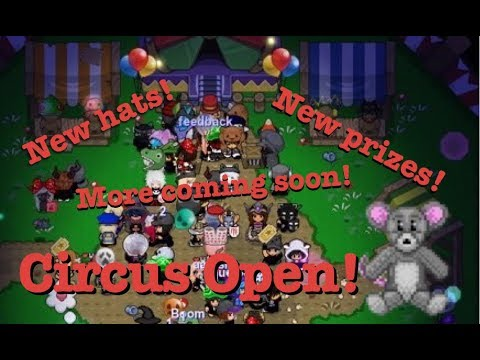 GraalOnline Classic: Circus Prize Events!