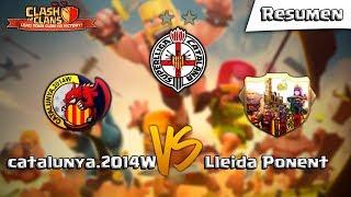 ¡WAR TOP 5VS5 TH11 - CATALUNYA.2014W VS LLEIDA PONENT - JORNADA 1! Clash of Clans - [ALGAME]