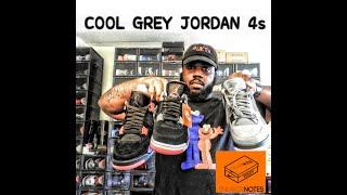 Jordan 4 COOL GREY JORDAN 4 OREO JORDAN 4 RAPTOR JORDAN 4 BRED  REVIEW