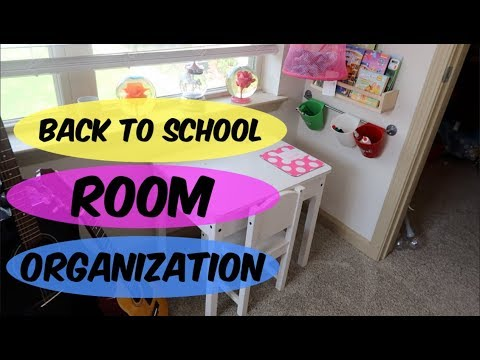 HOW TO CLEAN/ ORGANIZE YOUR KIDS ROOM FOR BACK TO SCHOOL