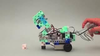 Niveau supérieur de codage avec Scratch - Le robot grue