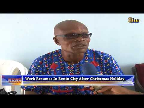 Work resumes after Christmas holiday