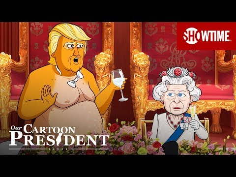 'Inside Cartoon Trump's Royal Dinner With The Queen' Ep. 5 Cold Open | Our Cartoon President