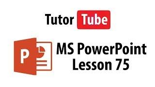MS PowerPoint Tutorial - Lesson 75 - Slide Aspect Ratio
