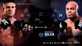 EA Sports UFC All Fighters Overall PS4 HD 1080p