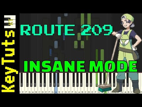 Learn to Play Route 209 from Pokemon Diamond and Pearl - Insane Mode