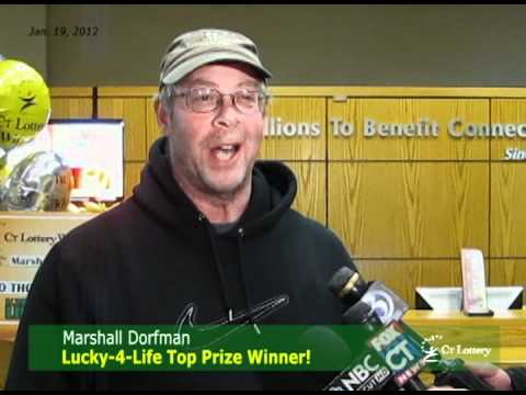 CT Lottery Lucky-4-Life Winner