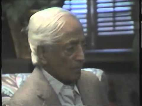 J.Krishnamurti - The Power of Illusion - Part 1