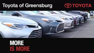 Toyota of Greensburg - Where More IS More!