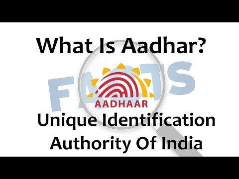 All About Aadhar Card..!! What Is Aadhar Card? 2017 || General Facts