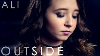 Outside Calvin Harris Ft. Ellie Goulding - Cover By Ali Brustofski W/ Lyrics - Official Music Video