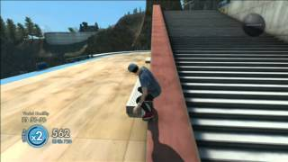[Xbox 360] Skate 3 Tricks Montage 2