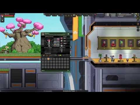 Starbound: Intro Mission + All Obtainables