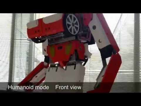 Real Transforming Robot!! Brave Robot No.8