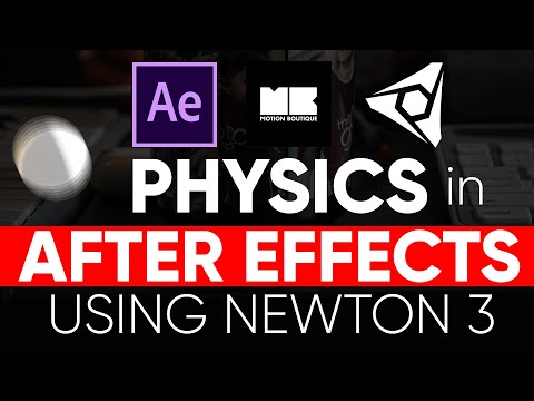 TUTORIAL: Physics In After Effects