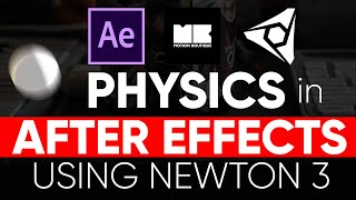 Physics Simulations in after effects with Element 3D