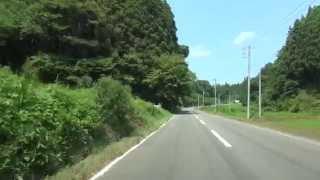 福島県道140号 01 石川鴇子線 石川→鴇子 車載