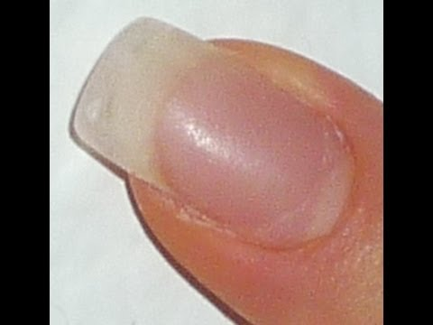 Extend a NAIL Without a Tip or a Form - YouTube