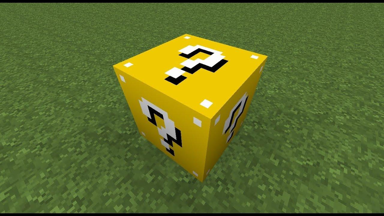 Мод на лаки блоки на Майнкрафт 1.7.10