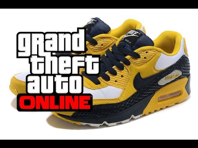 Dando Tregua pueblo  GTA V [Online] : New Shoes Nike Air Max - YouTube