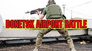 DONETSK AIRPORT FIERCE BATTLE - UKRAINE WAR(Chopper shot down - Украина война - Donetsk battle - guerra en Ucrania - Ukranian crisis - Україна війна - Ucraine crisis - Lugansk battle - Slavyansk battle ..., 2015-01-19T20:45:11.000Z)