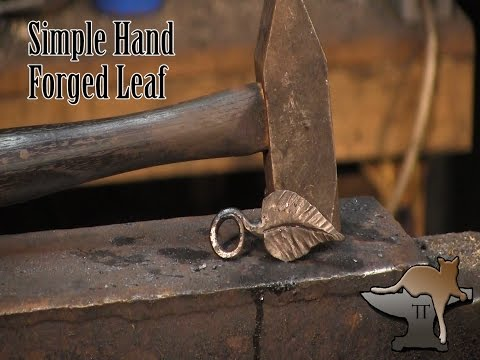 How To Forge A Simple Leaf
