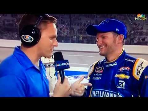 Dale Earnhardt Jr - Richmond Xfinity Post Race Interview 9/21/18