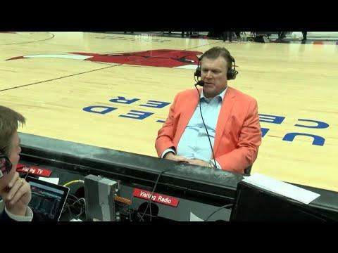 Brad Underwood Postgame Radio Interview vs New Mexico State | 12/16/17