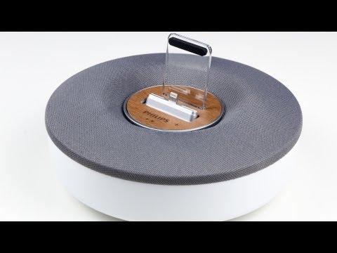 Review: Philips DS1155 Lautsprecher, Dock, Ladestation, Wecker für das iPhone 5 im Test
