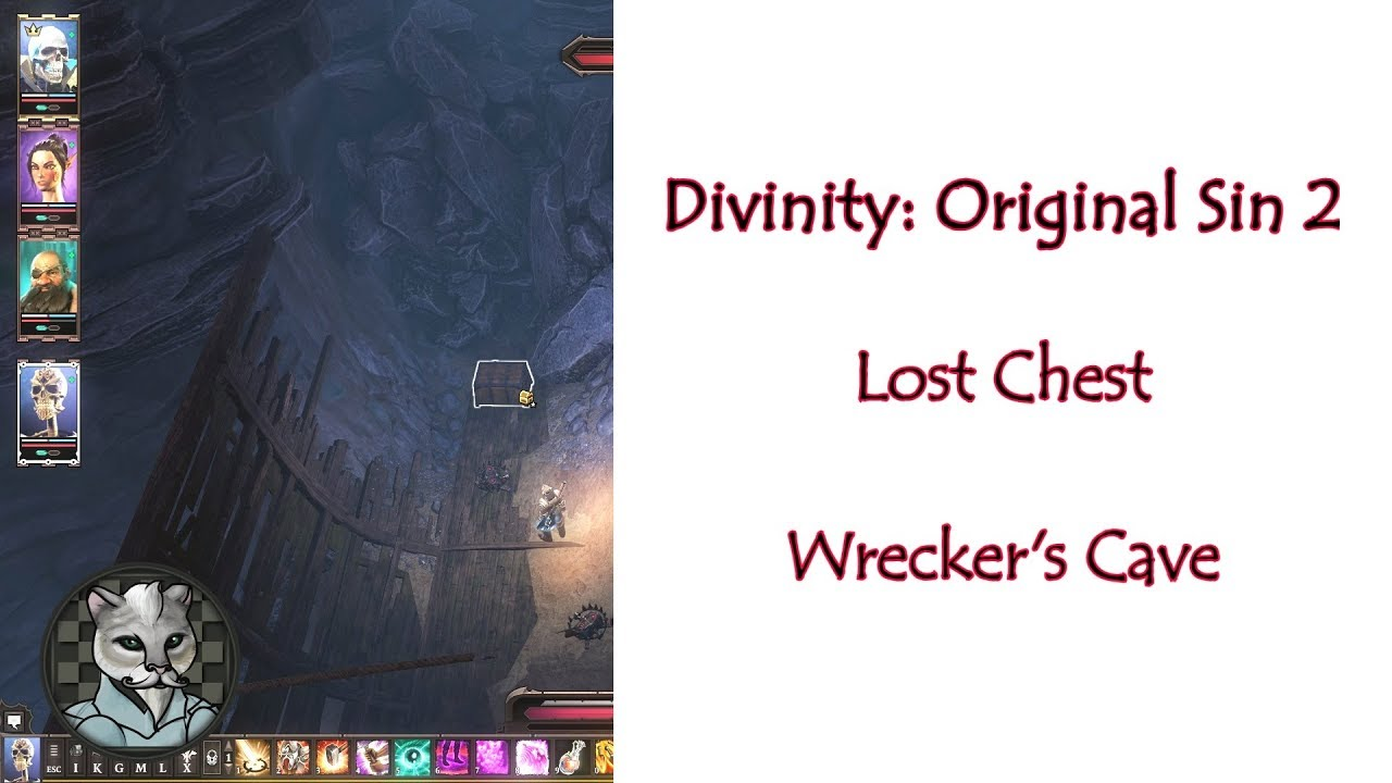 Divinity: Original Sin 2 Lost Chest Wrecker's Cave Interior [Possible  Spoilers]