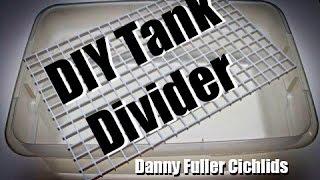 Diy Tank Divider